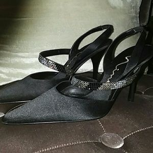 Nina Shoes Shoes - Nina Black Leather Dress Shoes 6M